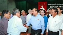 越南政府总理阮春福会见海防市水原县选民