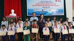 原越南国家副主席张美花颁发110份武阿丁助学金