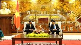 河内市希望与斯里兰卡加强农业领域合作并增进文化方面的交流