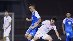 2020年亚足联U19足球锦标赛预选赛J组比赛:越南队以3-0击败蒙古队