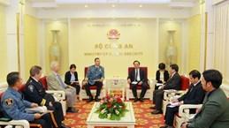 越南公安部与美国执法联盟、国际警察首长协会加强合作