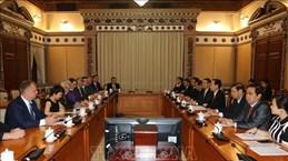 越南胡志明市与德国萨克森-安哈尔特州促进教育培训领域的合作