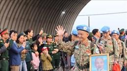 越南二号二级野战医院医疗队第二组队员今日启程赴南苏丹执行任务