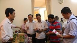 隆安省:为农产品销往中国市场创造便利