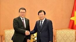 越南促进与蒙古的经贸合作