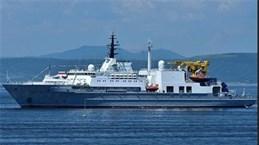 俄罗斯海军救援船访问金兰国际航空港