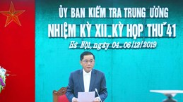 越共中央检查委员会第41次会议:在发现越南钢铁总公司党委常委会出现违规行为就进行检查