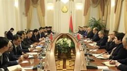 越南与白俄罗斯进一步加强经济、贸易与投资领域的合作