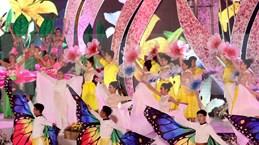 """2019年大叻花卉节: """"街头晚会""""活动精彩纷呈"""