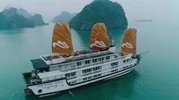 越南天堂集团在下龙湾推出新游轮服务