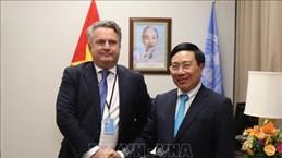 乌克兰高度评价越南在联合国安理会公开辩论会上的讨论议题