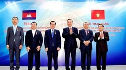 越南公安部高级代表团同柬埔寨王国内政部举行会谈