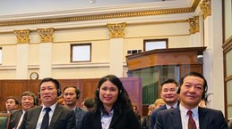 越南国家审计署代表团出席在匈牙利召开的国际研讨会