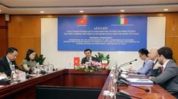 越南与意大利经济合作混合委员会成立