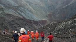 缅甸发生山体滑坡 至少50人死亡