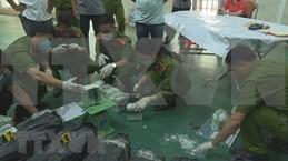 得乐省公安缴获贩运200公斤冰毒