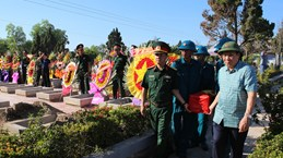 7·27越南伤残军人与烈士日:英烈祭奠仪式在越南多地举行