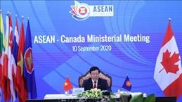 东盟与澳大利亚、新西兰和加拿大外长会议陆续举行