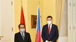 越南与捷克推动传统友谊与全面合作提质升级