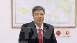 在韩的越南商人关注越共十三大