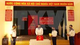 国会和人民议会换届选举:长沙岛县选民积极参加提前投票