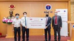 越南卫生部接收由阿斯利康制药有限公司捐赠的15万盒非传染性疾病药品