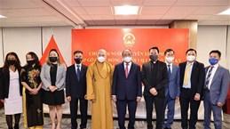 国家主席阮春福会见旅美越侨