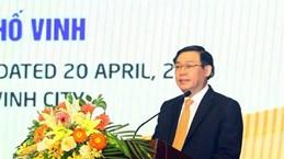 越南政府副总理王廷惠出席荣市发展会议