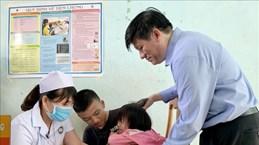 越南西原地区启动白喉疫苗接种运动