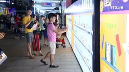 胡志明市居民积极响应周五在线购物活动