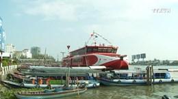 芹苴市至昆岛县首条高速客船航线开通