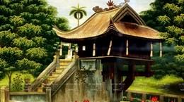 组图:将越南刺绣产品走出国门的橘洞村