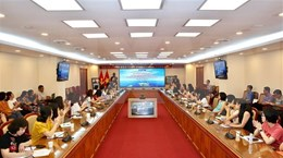 越通社就越南在东海的权益的对外通讯报道工作举行座谈会