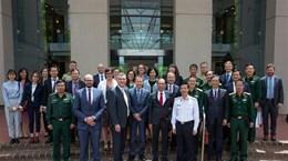 第7次越南与澳大利亚防务外交战略对话在堪培拉举行