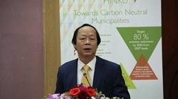 """芬兰帮助越南建立""""无温室气体排放城市""""的模式"""