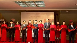 """""""越南共产党90周年--辉煌征程""""专题展在河内举行"""