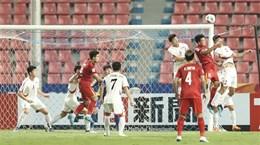 2020年U23亚洲杯:越南U23足球队以1比2惜败朝鲜队 无缘亚洲杯八强