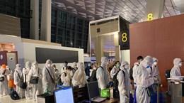 新冠肺炎疫情:将在欧洲、美洲和非洲的近350名越南公民接回国