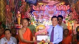 永隆、朔庄等省高棉族同胞喜迎传统新年