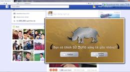 越南推出宣传片 呼吁社区停止使用犀牛角