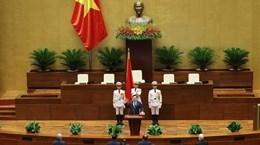 老挝国会主席致函祝贺王廷惠同志当选越南第十五届国会主席