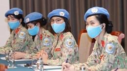 为提升妇女在全球和平和安全事务的参与度创造便利条件