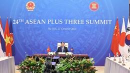 越南政府总理范明政出席东盟与中日韩领导人会议
