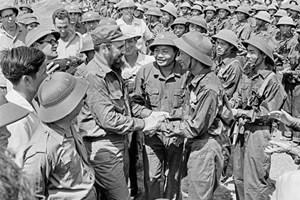 古巴领袖菲德尔•卡斯特罗访问越南南方解放区(1973.9-2018.9)(组图)