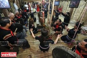 埃地族人祈求身体健康仪式(组图)