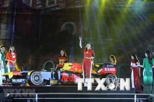 河内市举办一场精彩的艺术晚会 庆祝河内成功获得F1的举办权(组图)