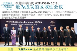 【图表新闻】在越南举行的 WEF ASEAN 2018: 最为成功的区域性会议