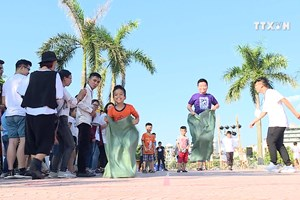 民间游戏奥林匹克节在河内热闹举行