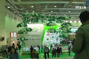 越南企业参加莫斯科国际粮食展览会