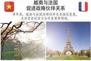 图表新闻:越南与法国促进战略伙伴关系